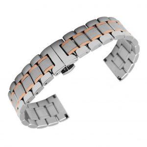 Bracelet Dual Or et Acier