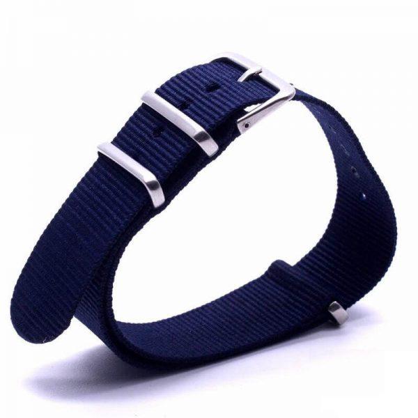 Bracelet Nato Bleu Marine Montres