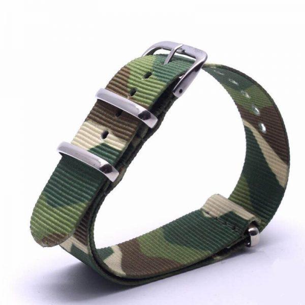 Bracelet Nato Camouflage Montres