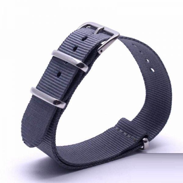 Bracelet Nato Gris Marine Montres