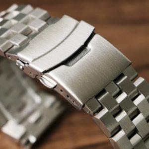 Bracelet en Acier Inoxydable 316L Massif WaWo 18mm 20mm 22mm 24mm