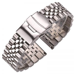 Bracelet solide Acier Inoxydable 20mm 22mm 24mm