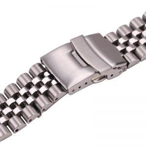 Bracelet Montre solide Acier Inoxydable 20mm 22mm 24mm «Mastodonte»