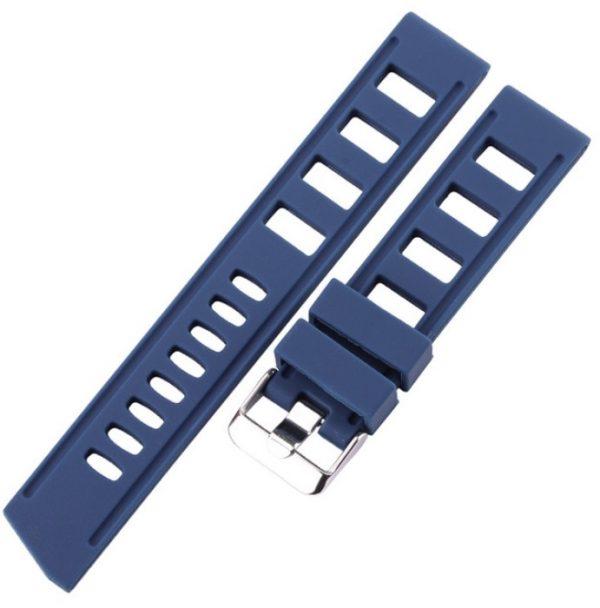 bracelet montre Silicone Bleu
