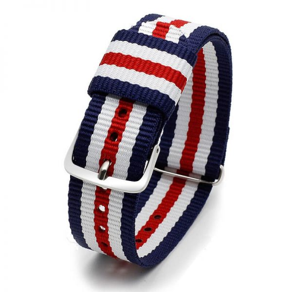 Bracelet Nylon pour Daniel Wellington Tricolor 18mm 20mm