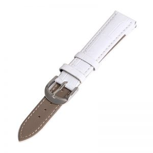 Bracelet pour Daniel Wellington Blanc Cuir