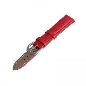 Bracelet pour Daniel Wellington Rouge Cuir