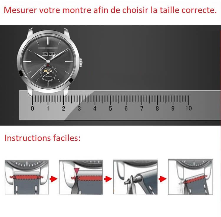 Comment choisir la taille de votre bracelet