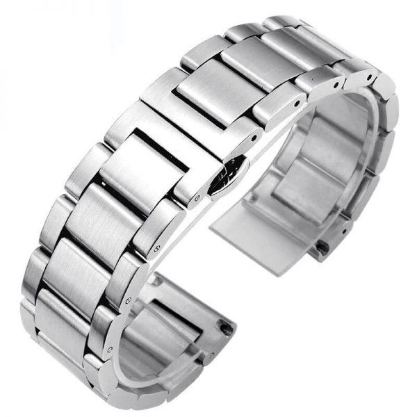 Bracelet Montre Acier Inox Brossé