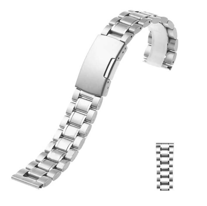 Bracelet Montre Acier Inox Eco 18mm 20mm 22mm 24mm