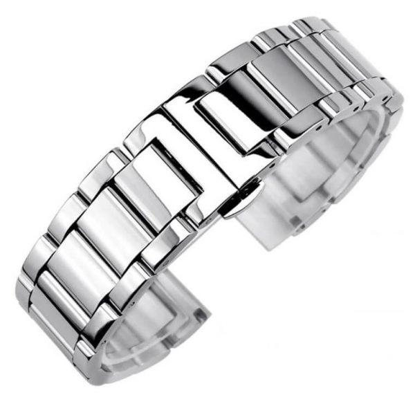 Bracelet Montre Acier Inox Poli
