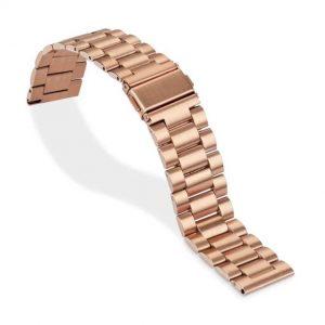 Bracelet Plaqué Or Rose Acier Inox Smart