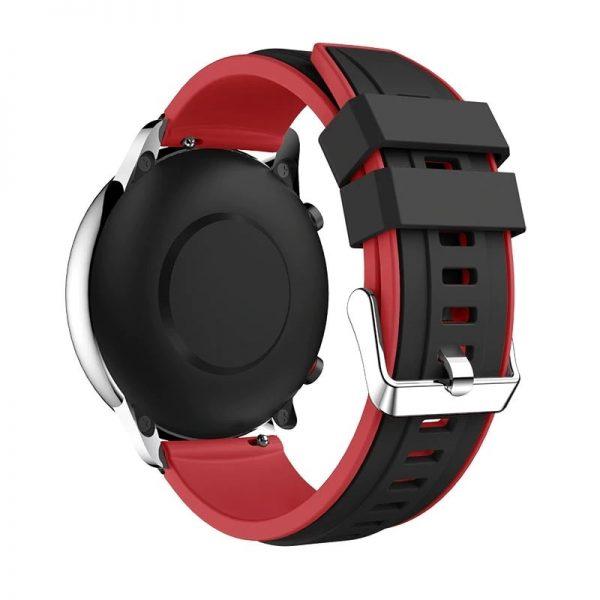 Bracelet Amazfit GTR Rouge 47mm Silicone arrière