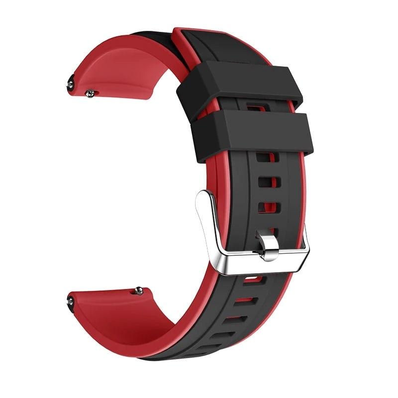 Bracelet Amazfit GTR Rouge 47mm détail