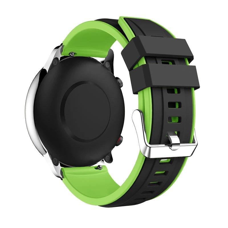 Bracelet Amazfit GTR Vert 47mm Silicone arrière