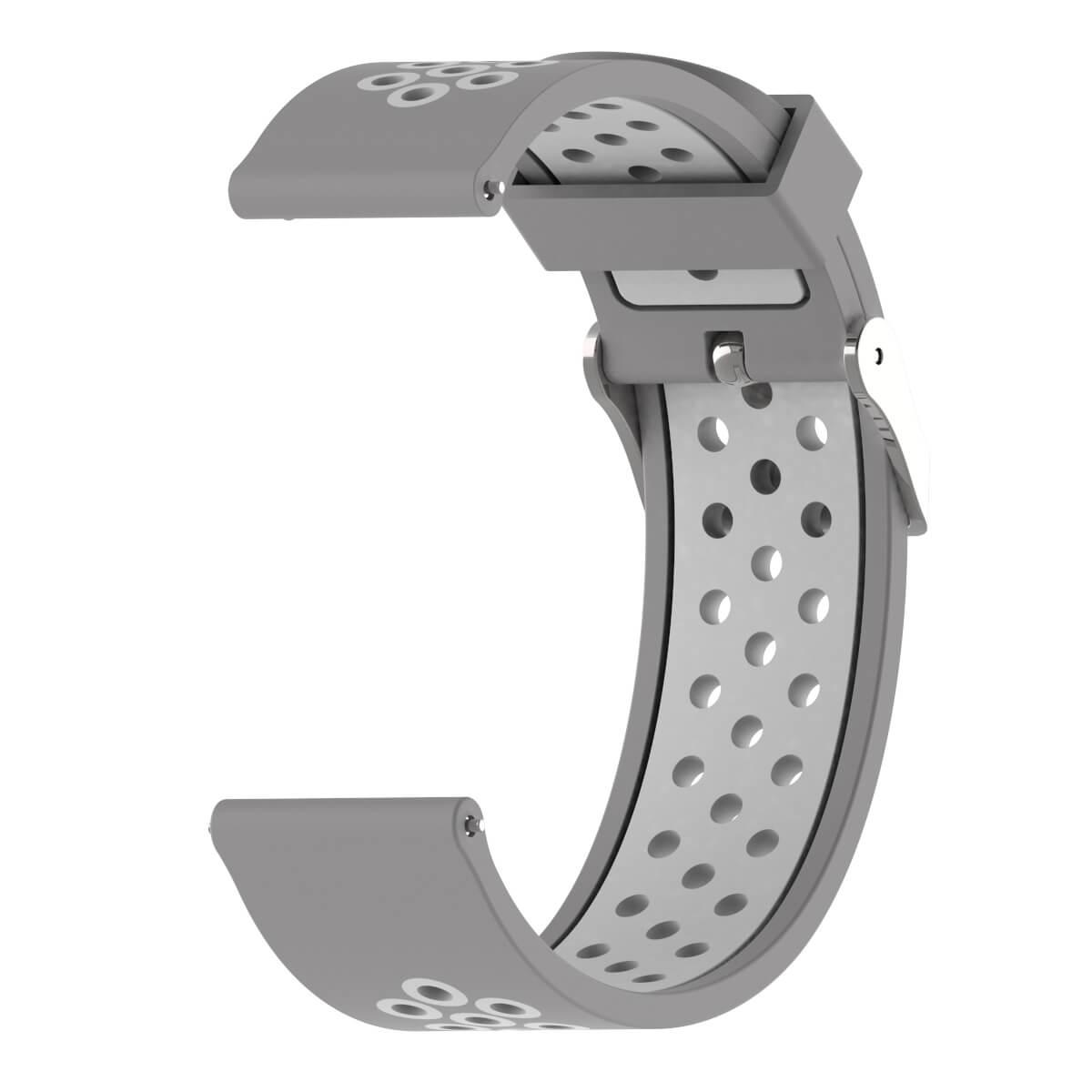 Bracelet Amazfit GTR 47mm Silicone Xtreme gris