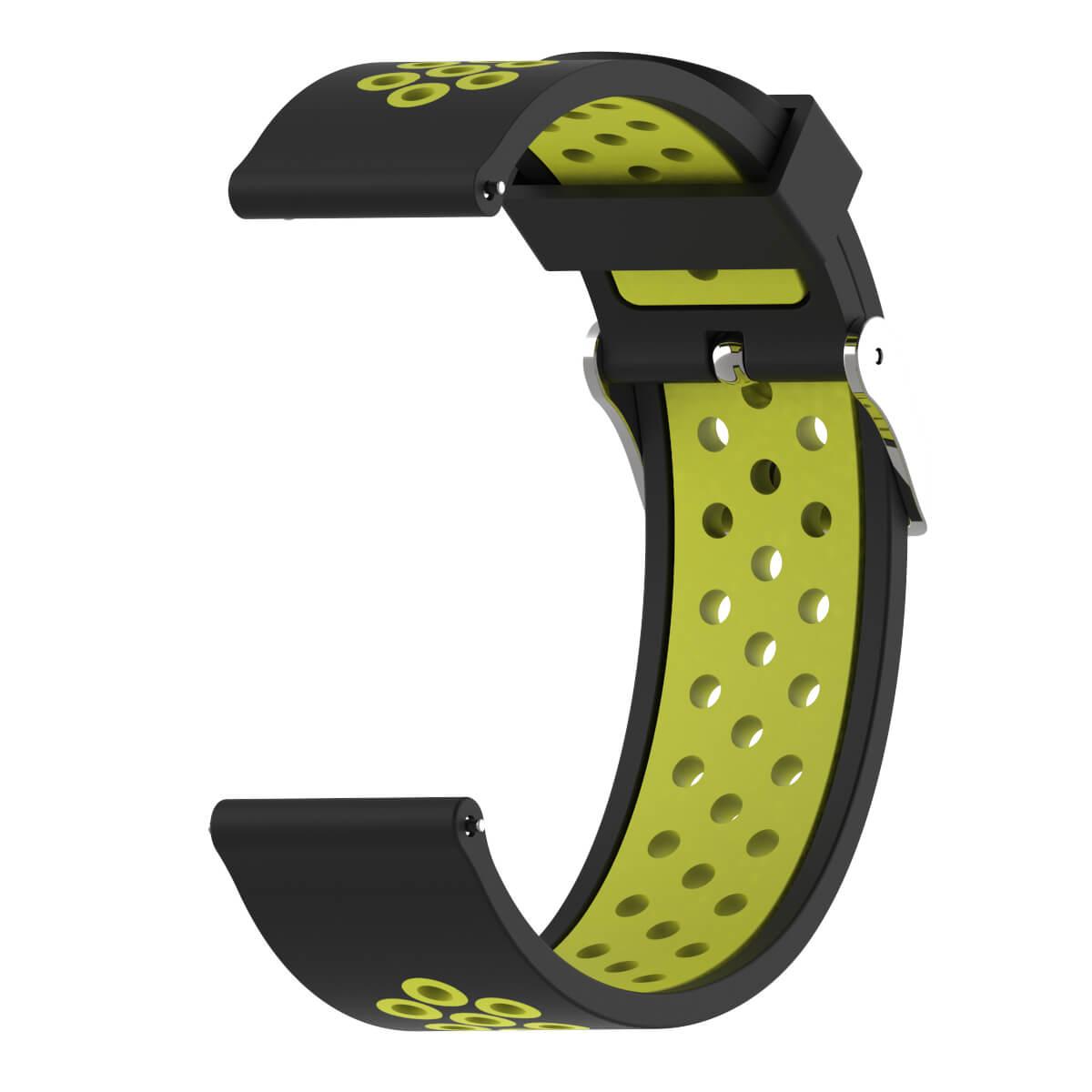 Bracelet Amazfit GTR 47mm Silicone Xtreme vert
