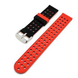 Bracelet montre Silicone Dual Orange