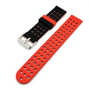 Bracelet montre Silicone Dual Orange